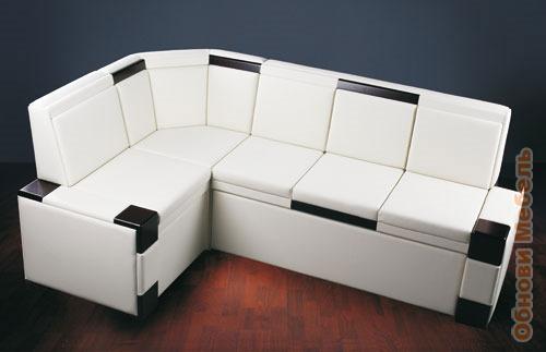 угловой диван с ящиками