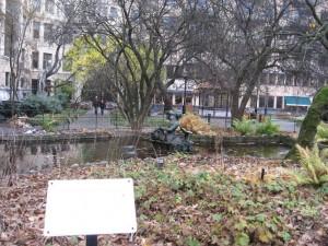 Дворик в центре Стокгольма