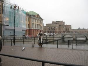 Мужик на курьих ножках в Стокгольме