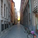 Улица в центре Стокгольма