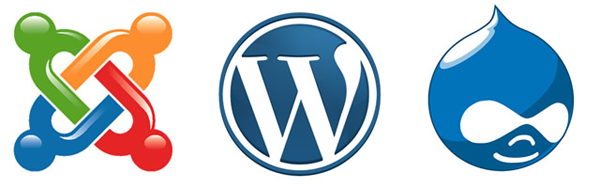 Drupal WordPress Joomla
