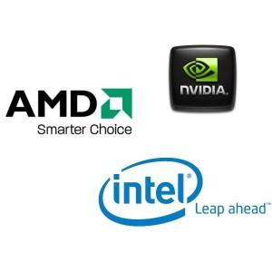 Intel AMD NVIDIA