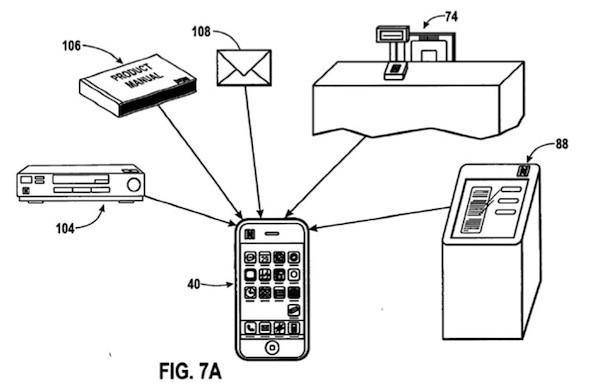 управление техникой по NFC с iPhone
