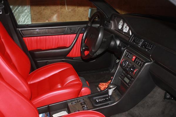 кондиционер в автомобиле W124