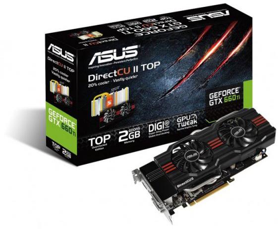 ASUS на базе GeForce GTX 660