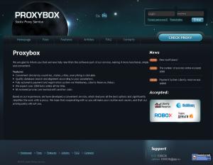 сайт Proxybox