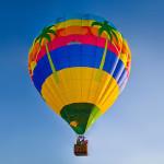 летающий воздушный шар