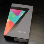 коробка Nexus 7