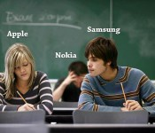 Nokia продолжает шутить, на этот раз над Apple