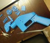 распечатанный пистолет