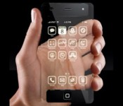 прозрачный Айфон