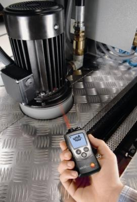 Измерения температуры с помощью пирометра Testo