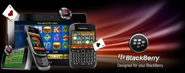 мобильное казино для BlackBerry