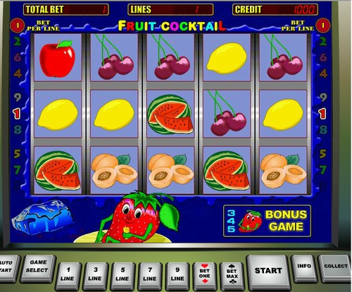 игры онлайн fruit cocktail